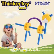 Brinquedo engraçado educativo animal da educação para miúdos Blocos magnéticos do brinquedo