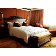 Luxury Wooden Modern Hotel Furniture Suite (LX-TFA053)