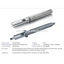 injection machine nitrded screw barrel