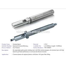Máquina de injeção nitrded screw barrel