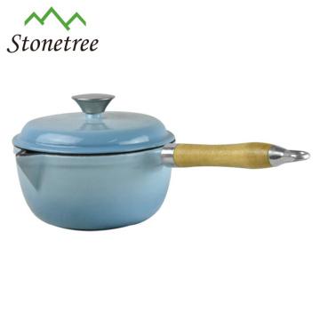 Customized japanese cast iron wok for sale
