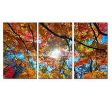 Multi-panel Picture Tree Art Painting Wall Decor Art On Canvas For Living Room