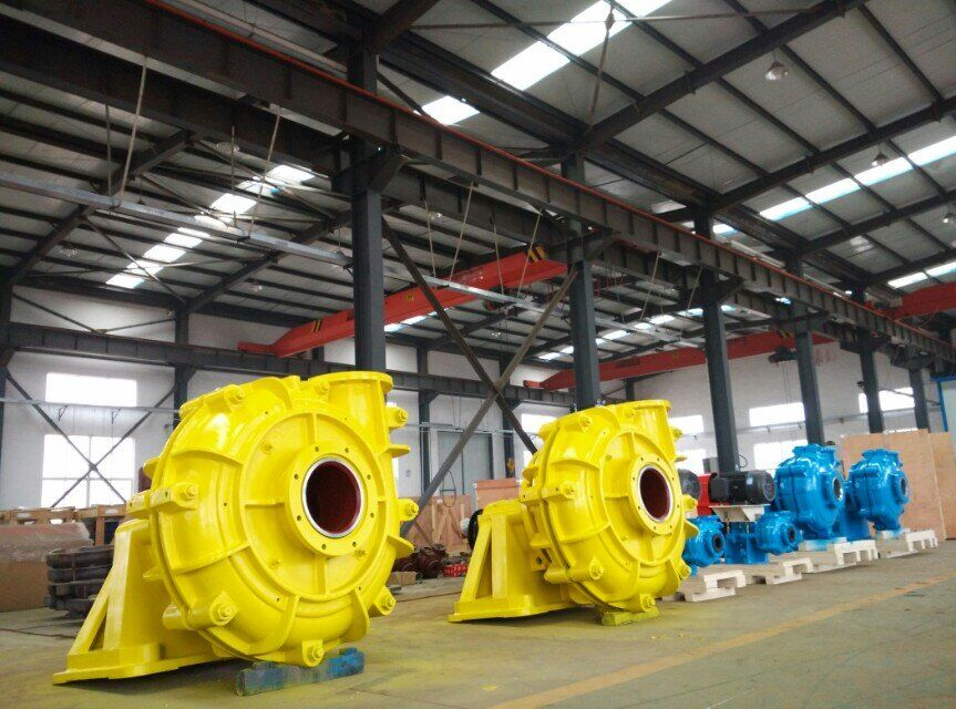 horizontal centrifugal end suction slurry pump
