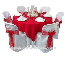 Tissu de polyester à manger table, couverture de table durable