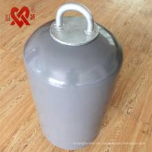 El mundo utiliza ampliamente boya de amarre de guardafangos de espuma de poliuretano flotante de alta calidad