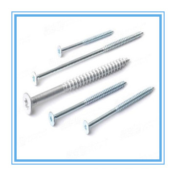 Csk Head Zinc Plated Chipboard Screw (DIN7505)
