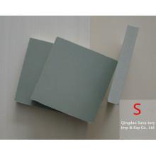 Tablero rígido sólido de la espuma de WPC PVC Celuka de la densidad 9-12mm 0.5g / cm3 para la fabricación portátil del tocador