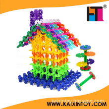 118 PCS DIY Educational Building Block Toys Children Plastic Snowflake Toys