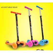 Tres ruedas de Flash Light Baby Scooter