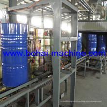 Linha de produção de tambores de aço traseiro