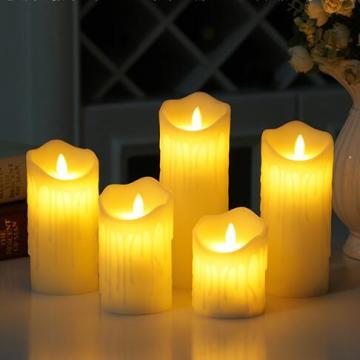 LED Candle Dengan Remote Colorful Led Candle