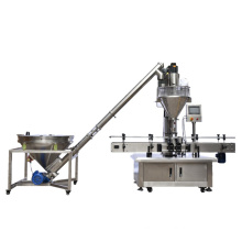 Industrial Automatic Servo Motor Auger Dried Spirulina Powder Quantitative Packaging Filling Packing Machine PET Plastic Bottle