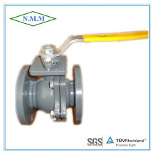 Ductile Iron Flange Ends Ball Valve with Handle Operated