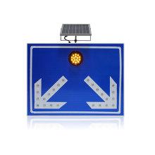 алюминиевый светодиодный проблесковый маячок солнечный дорожный знак