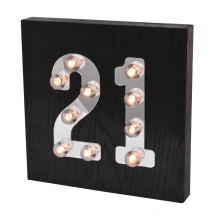 Idade luz LED para decoração de casa