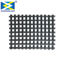 High Quality Biaxial Polyester geogrid 150kn Warp Knitted Reinforcement Geogrid Fabric