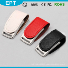 Wholesale Leather USB Flash Memory USB Flash Pen Drive for Free Sample