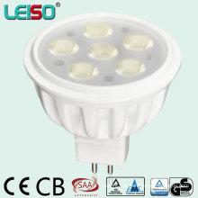 Projetor do diodo emissor de luz 580lm 3W / 5W / 6W do halogênio para a iluminação comercial (LS-S505-MR16)