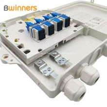 Caixa de distribuição óptica da fibra do núcleo da caixa 8 da terminação da caixa de Ftth