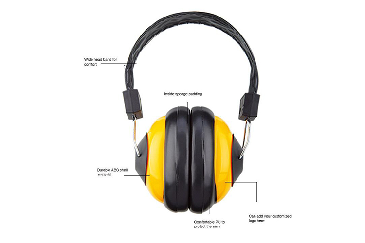 Safety Ear Muffs Hearing Protection