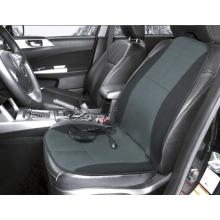 Black Heat Massage Car Seat Cushion with Lumbar Therapy