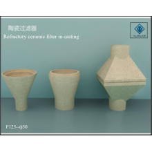 Ceramic refractory filter in casting