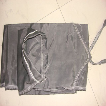 Dedusting cloth bag with polyester needled felt
