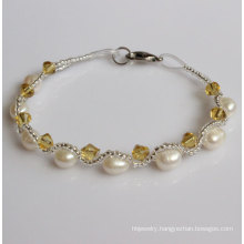 Cheap Fanncy Freshwater Pearl Bracelet (EB1511-1)