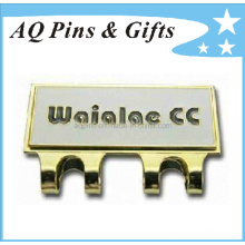 Fabrik Preis Hard Enamel Cap Clip mit Golf Ball Marker (Golf-04)