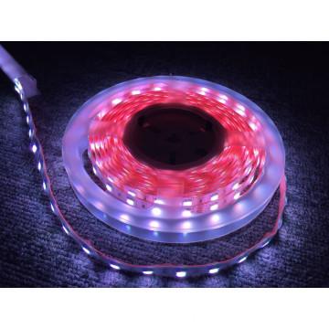 UL LED Faixa de luz Premium Epistar Chip SMD 5050 Faixa flexível de alta potência-60 LEDs / M, tubo termorretrátil IP67 envolve faixa inteira, 24 V, 4000k Branco natural