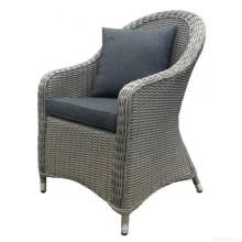 Cadeira de braço jardim vime móveis Rattan ao ar livre do pátio