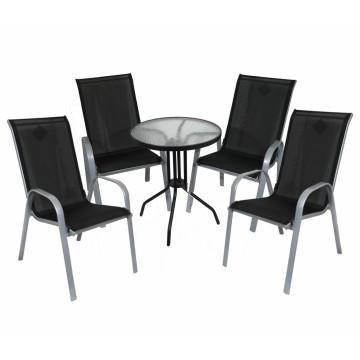 5PCS hohe rückseitige Minigarten-Möbel
