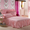 100% Microfibre  Dust Ruffle  Bed Skirt   Fitted Bed Skirt