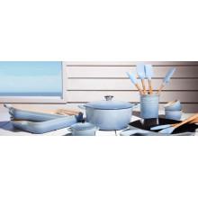 2016 Nuevo hierro fundido del diseño que cocina el pote para el ama de casa