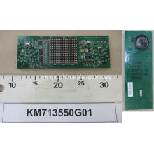 KONE Lift Dot Matrix Placa de presentación horizontal KM713550G01