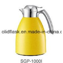 Solidware Edelstahl Vakuum Coffee Pot/Wasserkocher mit Glas Refill