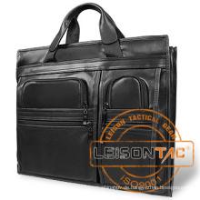 Ballistische Aktentasche aus Leder mit NIJ Level IIIA panels