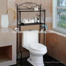 Vivinature sobre a prateleira do toalete, cremalheira do armazenamento do organizador da prateleira do banheiro
