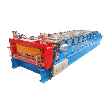 Double Layer Roofing Tile Roll Forming Machine