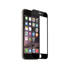 Vidrio templado HD para iPhone 6 - Negro