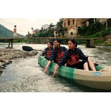Max 7 personas Plastic Sit on Top Trio Uso del equipo Kayak / Canoe