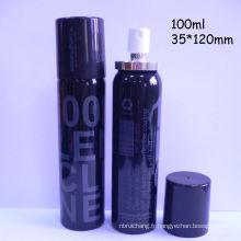 En aluminium peut bouteille 100ml avec de l'aluminium