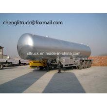 3 Axle 36 Cbm LPG Tanker Semi Trailer Chloromethane