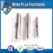 Made in Taiwan Double Ended Threaded Studs