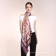 2017 Китай завод последний приезд различные типы женщин и девочек шелковый шарф