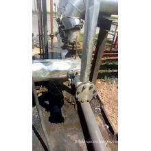 Bomba de asfalto material de acero fundido a alta temperatura.