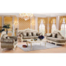 Sofá de tecido clássico com mesa para móveis de casa (929N)