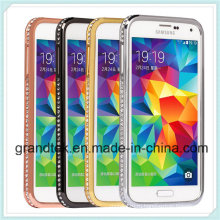 Алмазный bling металлический корпус бампер для Samsung S5 и предложить скидку