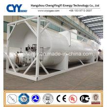 Neue hohe Qualität und niedriger Preis LNG Lox Lin Lar Lco2 Kraftstofflagertankbehälter