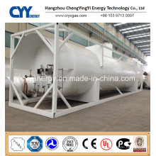 New High Quality and Low Price LNG Lox Lin Lar Lco2 Fuel Storage Tank Container
